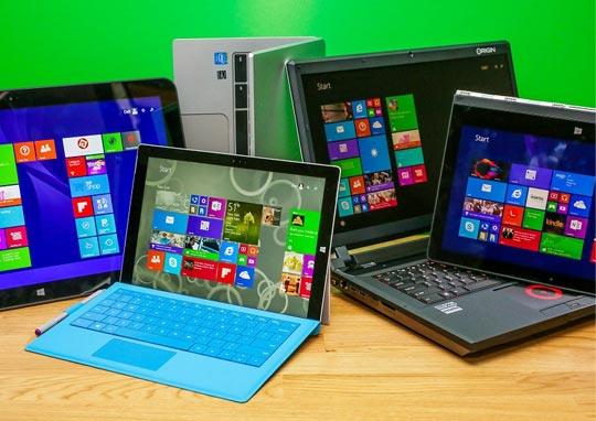 Desktops, Laptops, PDA & Tablets